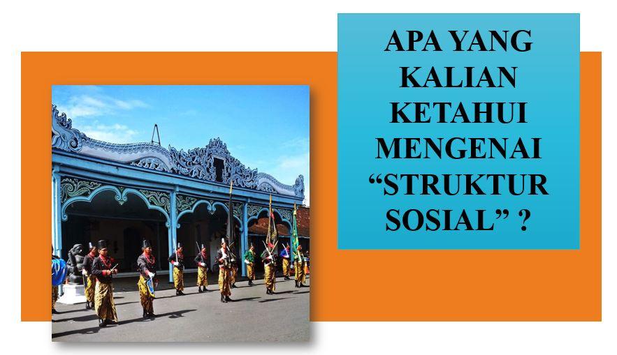 19 - New Struktur sosial
